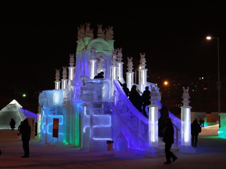 ледовый городок