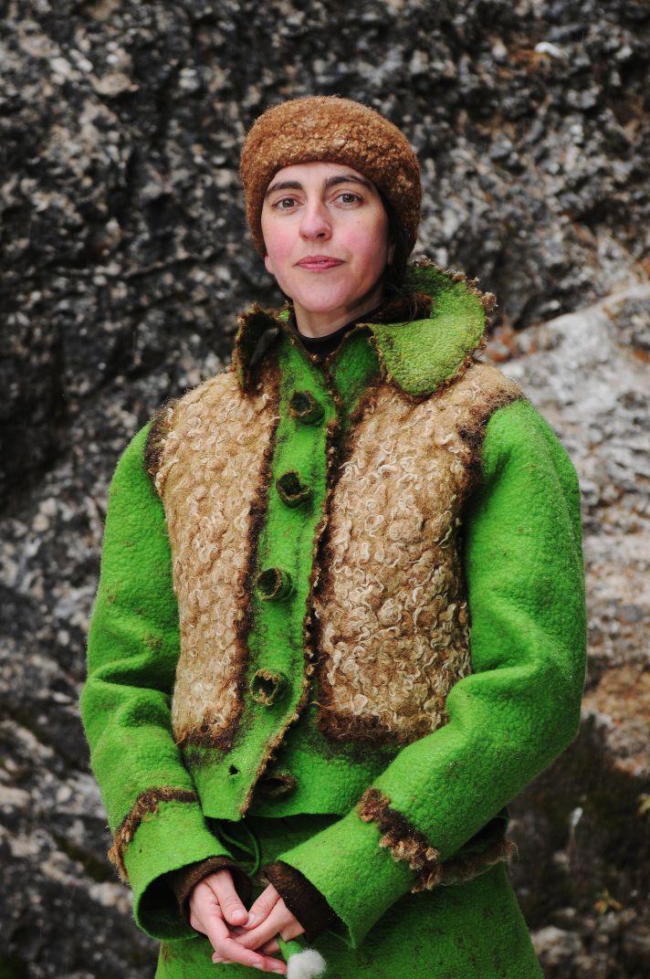 альпака, валяная одежда