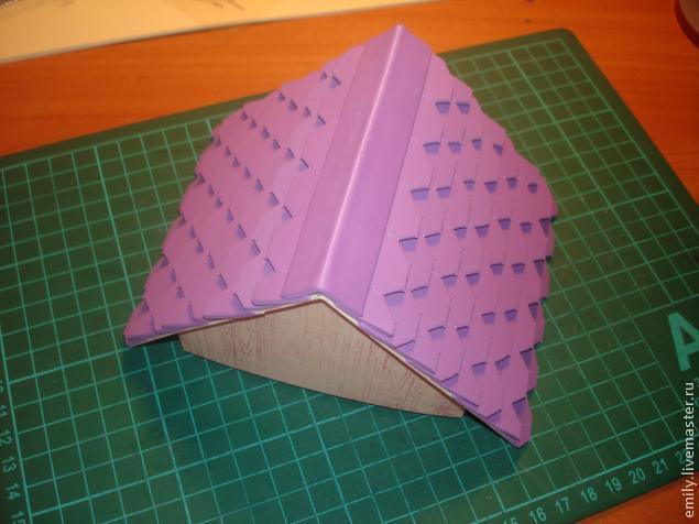 Как сделать крыши из картона