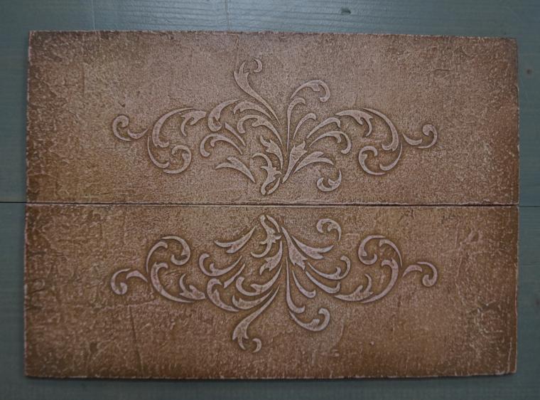 Тиснение орнамента на мебели. Мастерская Натальи Строгановой. Отчет. Часть 2, фото № 15