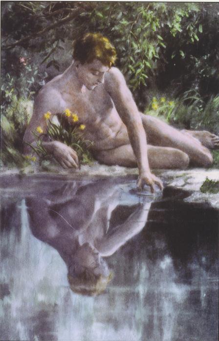 нарцисс, легенда, цветы, история