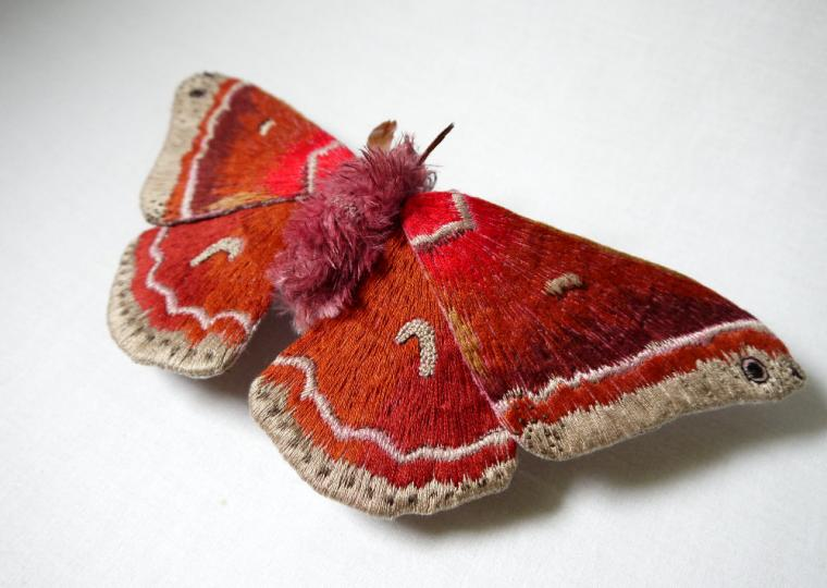 Текстильные шедевры, или Бабочки как источник вдохновения, фото № 41