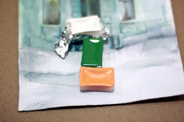 a4fb8c480a94 Вдохновляющий зеленый - Ярмарка Мастеров - ручная работа, handmade