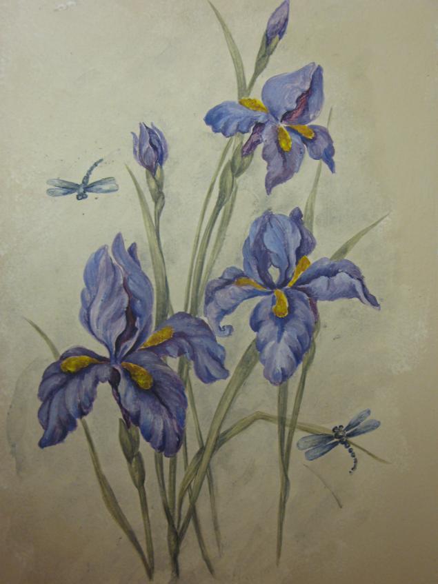 рисование, мастер-класс по живописи