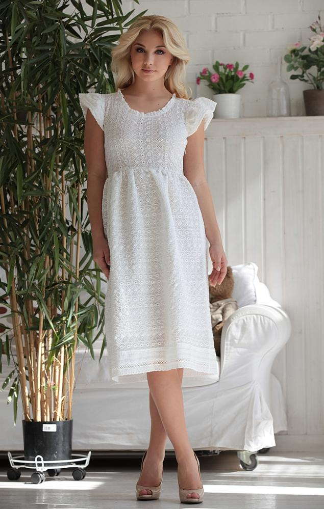 Платья из хлопкового шитья