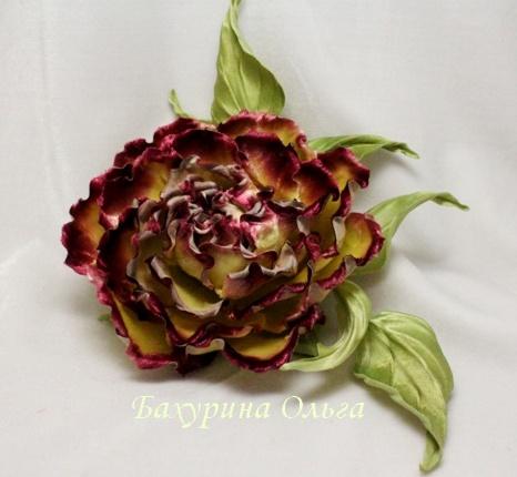 розы, цветы из ткани, обучение, бульки, цветоделие
