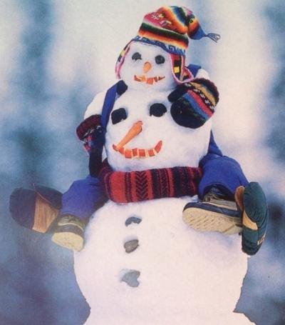 Иван Иваныч Снеговик или пару строк из биографии Снежной Бабы :-), фото № 21