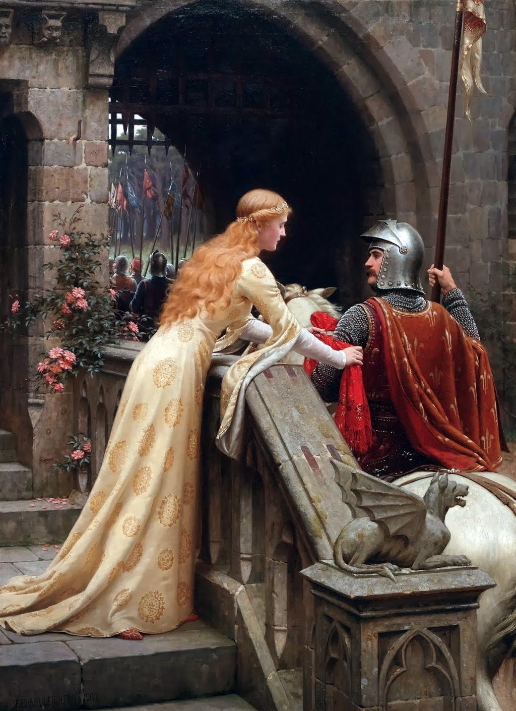Рыцарь и девушка 9 фотография