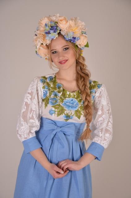 веночек ручной работы, цветы в венке, веночек киев купить, украшения украинские, свадьба 2015