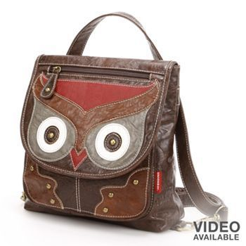 Unionbay Owl Convertible Backpack Pinned by <a href=