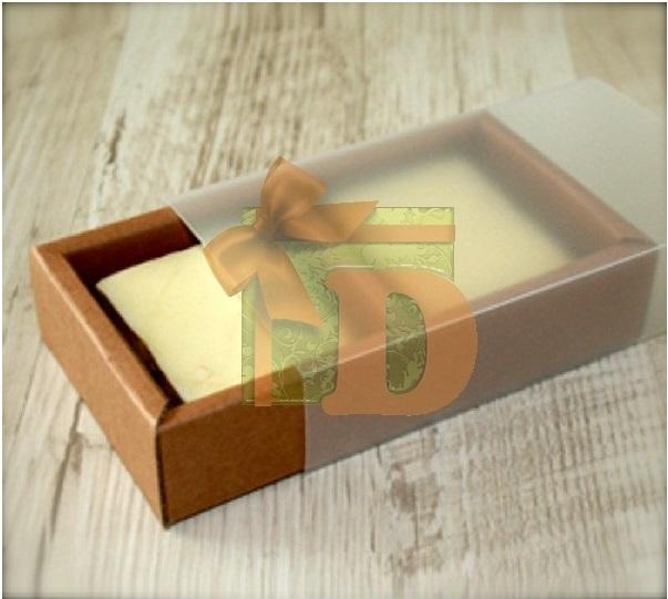 крафт-коробочки, коробки на два мыла, красивые крафт коробочки