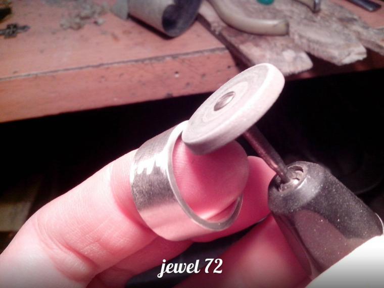 Делаем стильное кольцо из серебра, фото № 15