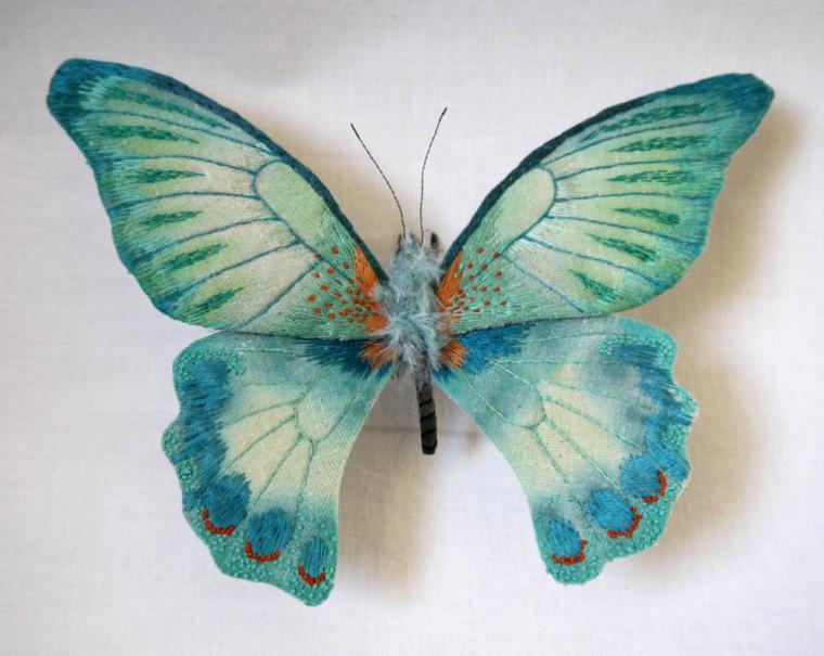 Текстильные шедевры, или Бабочки как источник вдохновения, фото № 33