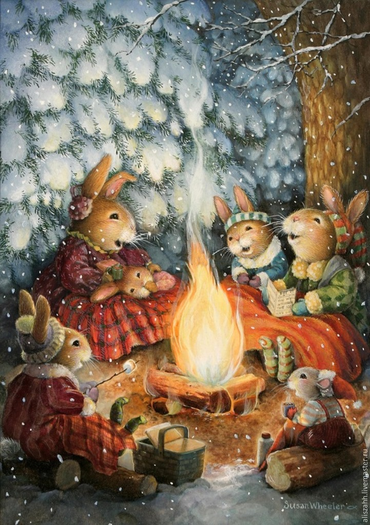 рождественская добрая картинка посещения зависит количества