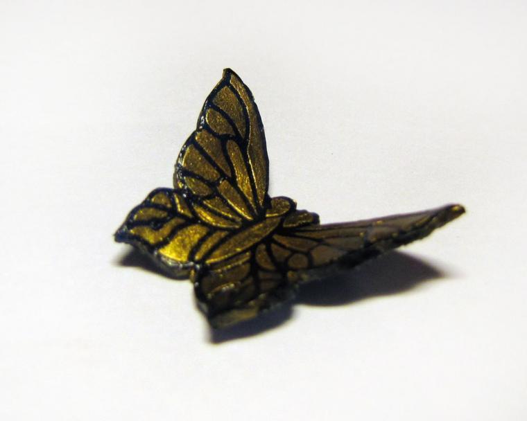 бабочка, украшение с бабочкой