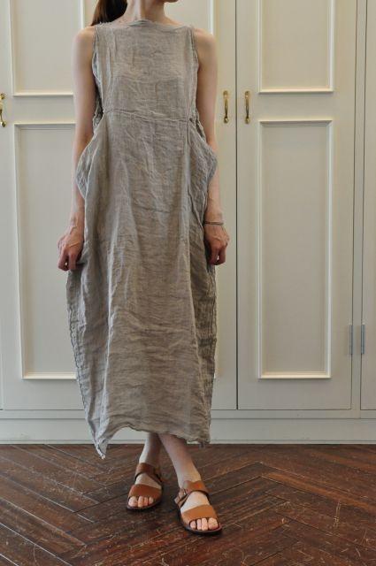 Платье из льна своим руками 43