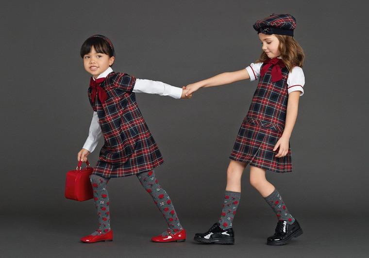 модные школьницы