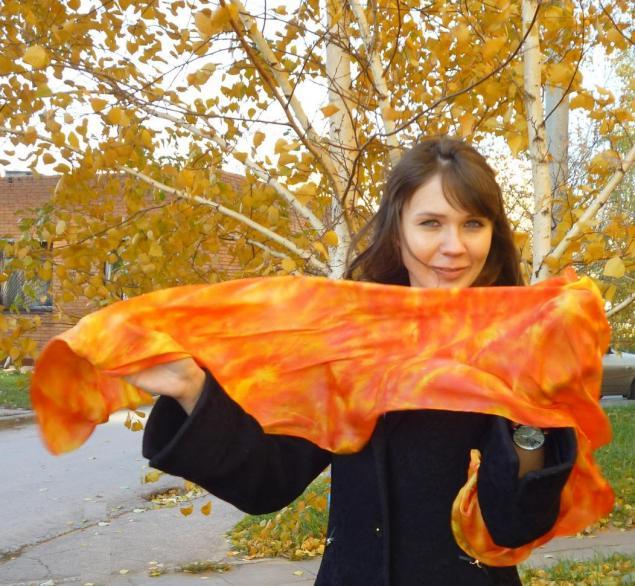 палантин, пальто, батик, роспись по мокрому, скидка, самара, скидка 10%, натуральный шелк