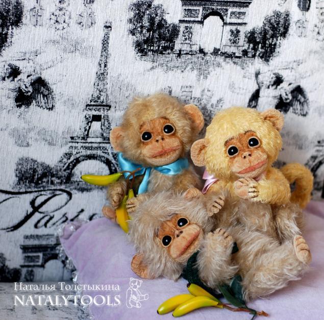 обезьяна, обезьянка, мартышка, друг тедди, как сшить, мастер-класс, обучение, выкройка, тедди