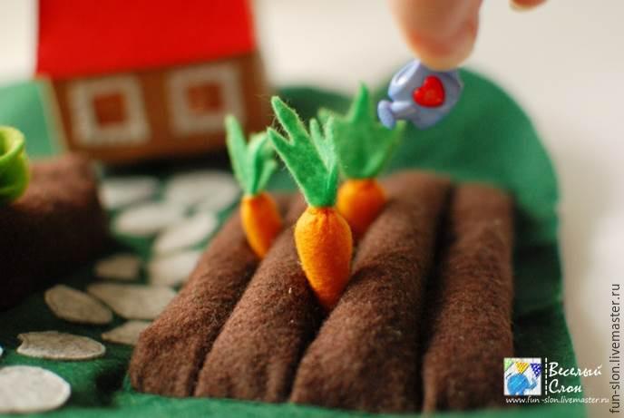 Шьем яркий и реалистичный игровой коврик из фетра, фото № 35