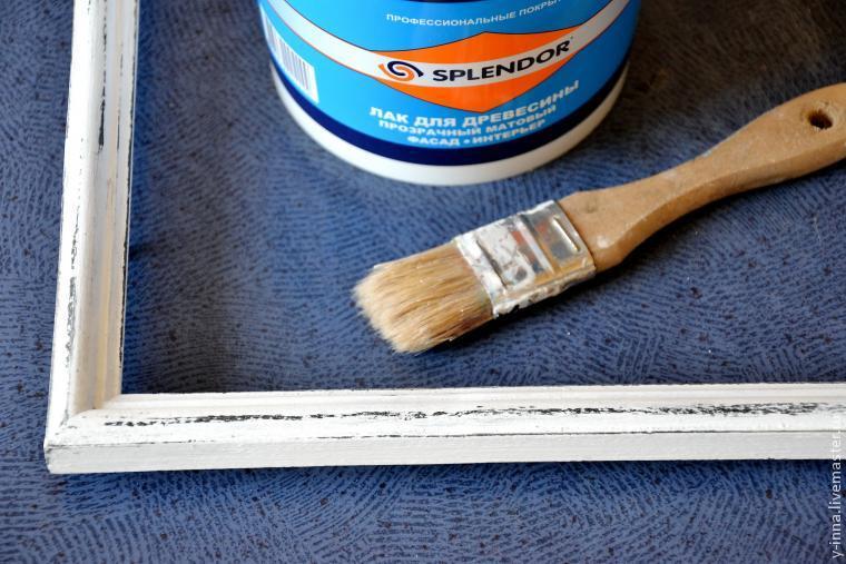 Изготовление интерьерной грифельной доски для записей - Ярмарка Мастеров - ручная работа, handmade