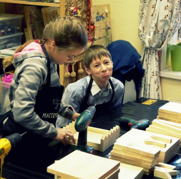 Отчет о мастер-классе по кормушкам от Мастерской №13, фото № 1