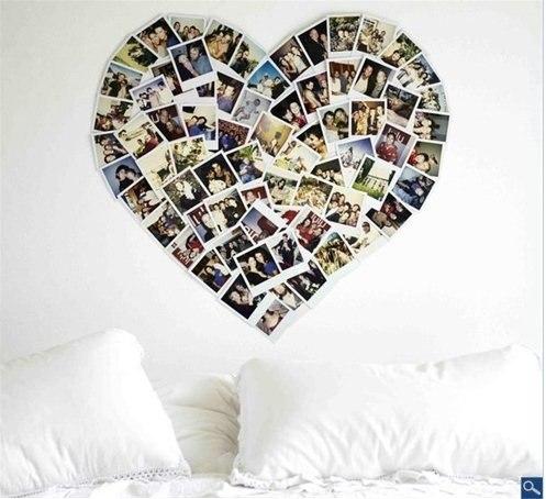 Сердце с фотографией своими руками