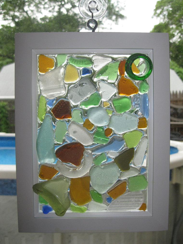 Картина из стекла своими руками