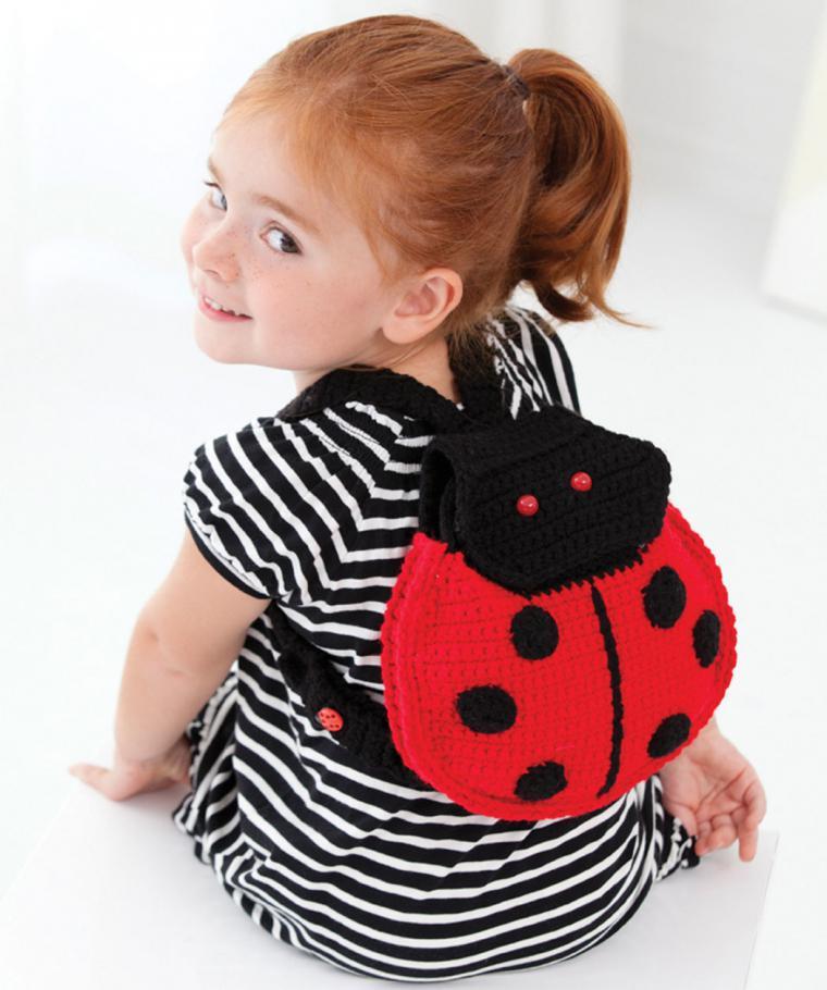 Детский рюкзак связать
