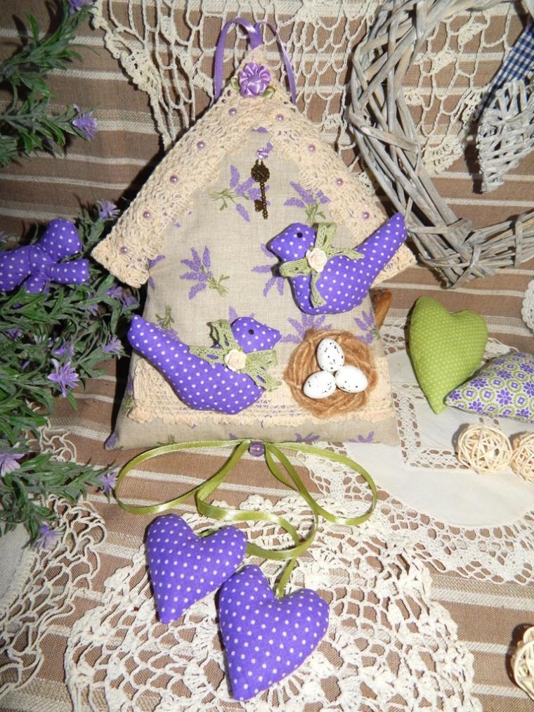 текстильный домик, подарок для влюбленных