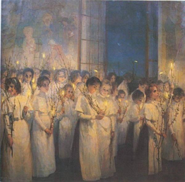 праздник, вербное воскресенье, православие, поздравление, черное платье