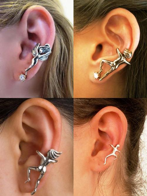 Креативные украшения для ушей или каффы (9 фото)