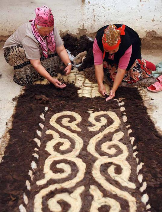 Мастер-классы по изготовлению ковров