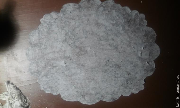 кружевная салфетка