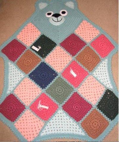 crochet bearghan