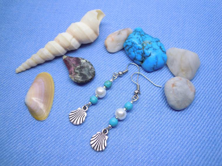 морской стиль, голубой, подарок, летнее украшение