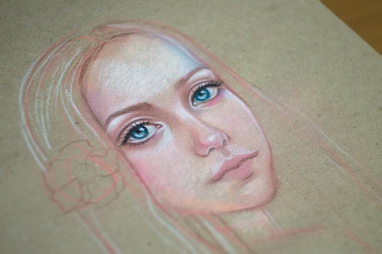 Как нарисовать портрет мастер класс