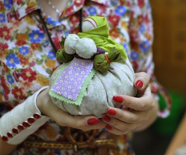 Мастер класс по лоскутной кукле