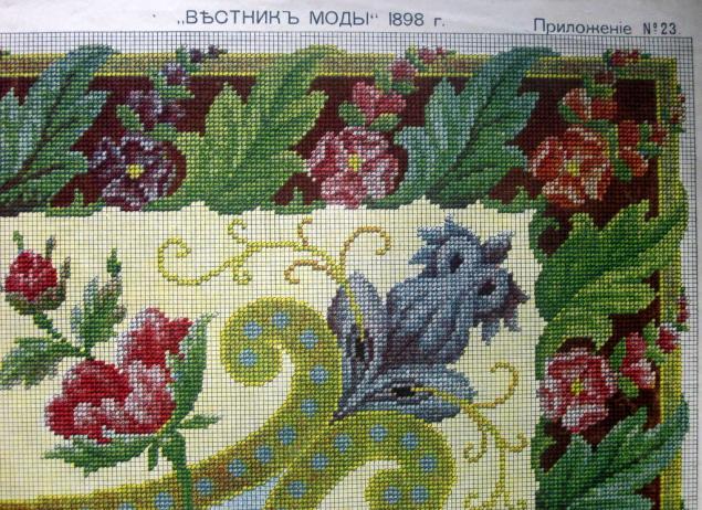 анантичные схемы вышивки
