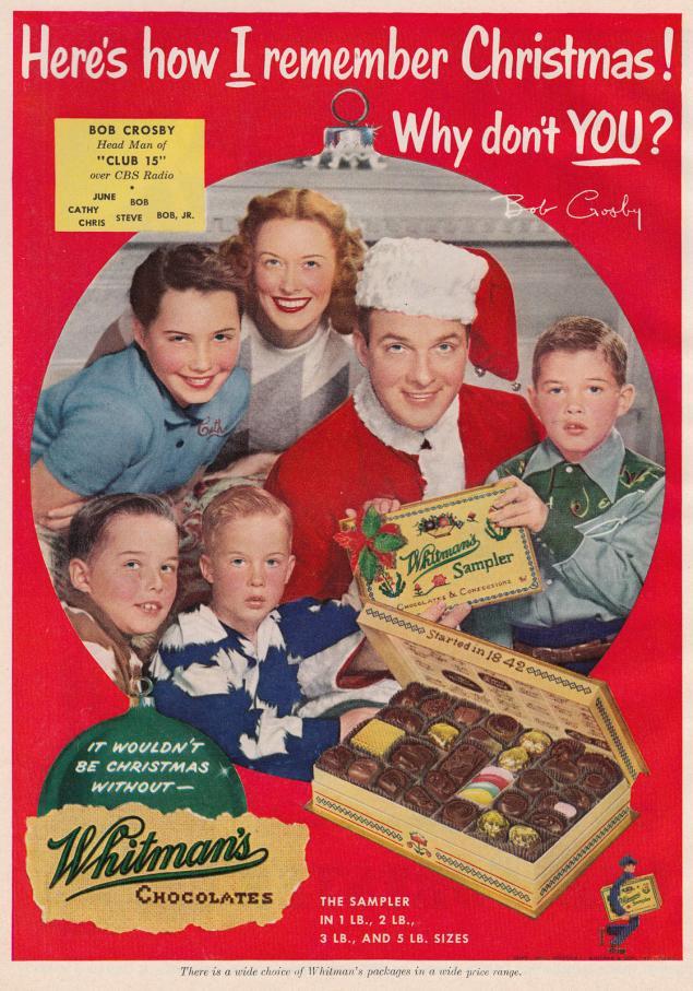 Новогодняя реклама Vintage/1951 -1956 включительно, фото № 4