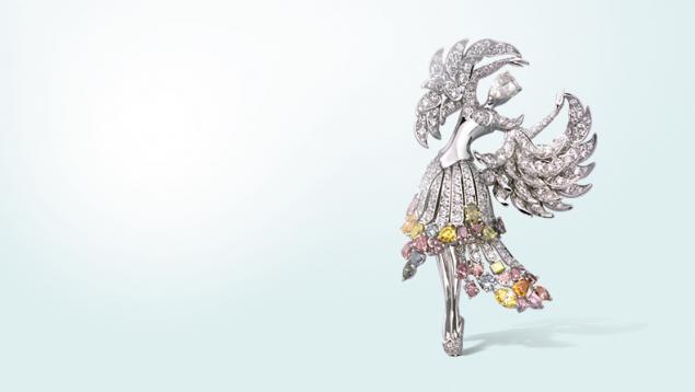 Танец, как источник вдохновения в украшениях Van Cleef & Arpels, фото № 10