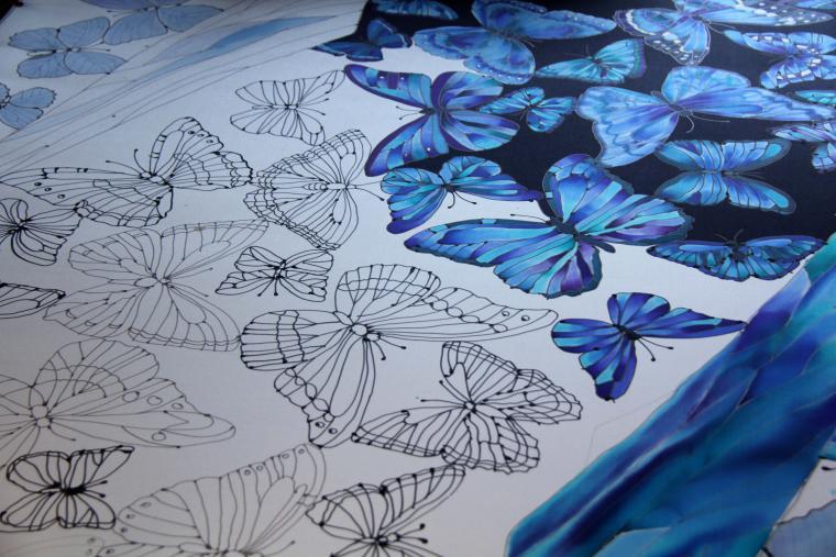 бабочка, мастер-классы