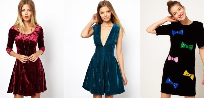 Бархатное платье модные тенденции