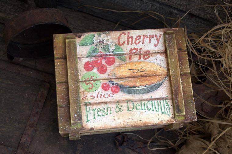 ящик для сладостей, прованс