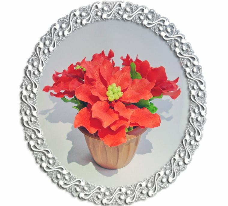 конфетка розыгрыш, цветы ручной работы