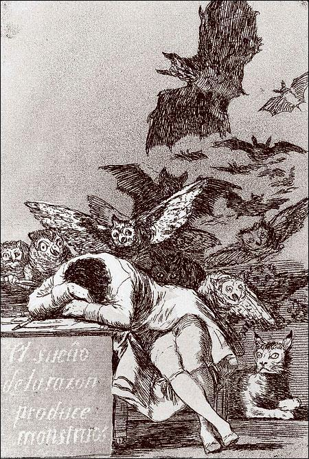 Черно-белая графика знаменитых художников, фото № 14