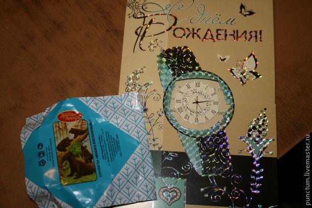 Часы-ходики из спичечного коробка в кукольный дом, фото № 7