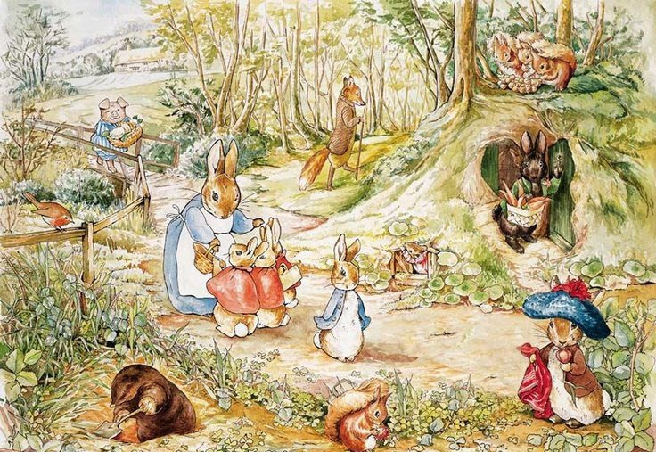 Интересные факты о Беатрис Поттер и ее знаменитых кроликах, фото № 1