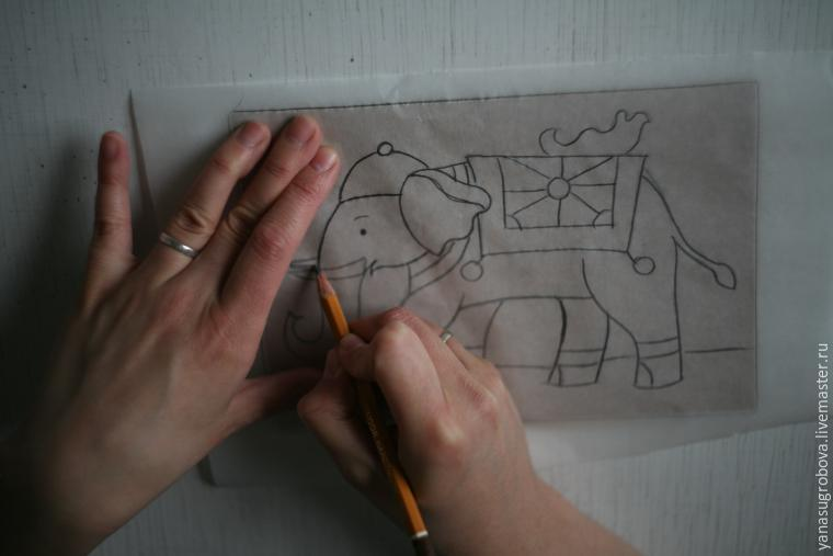 How to Make a Beaded Mosaic with an Indian Elephant with Kids, фото № 3