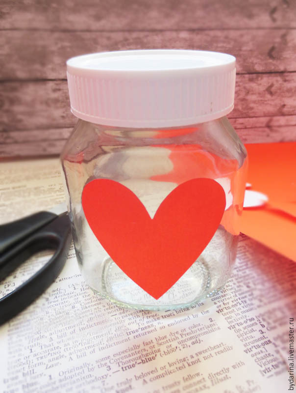 DIY Jar With Wishes For Valentine's Day, фото № 4